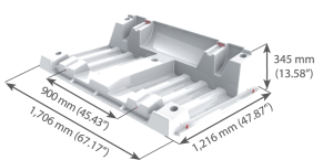 HDPE125-frame-dimensions